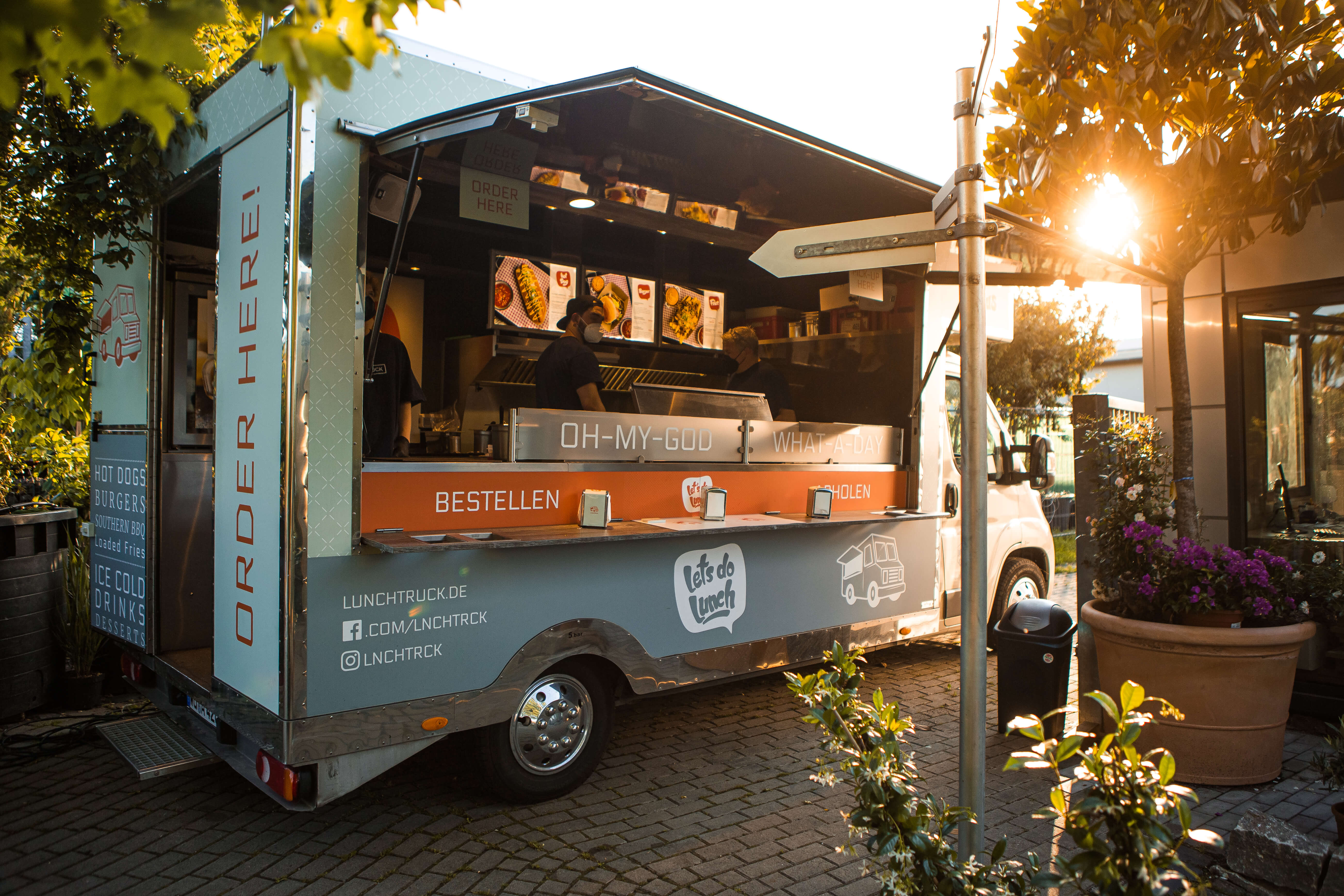 Lunchtruck - American Streetfood - Sommerfest 2021